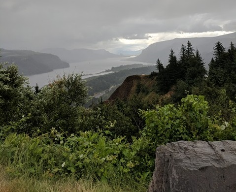Columbia River Gorge, As seen from the Crown Point Vista House