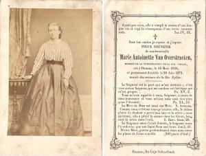 Van Overstraeten Marie Antoinette 1846-1871