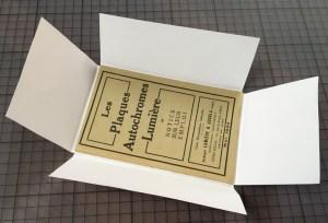 """Doe het zelf """"four-flap"""" verpakking van zuurvrij papier"""