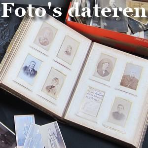 je oude familiefoto's dateren, interpreteren en identificeren