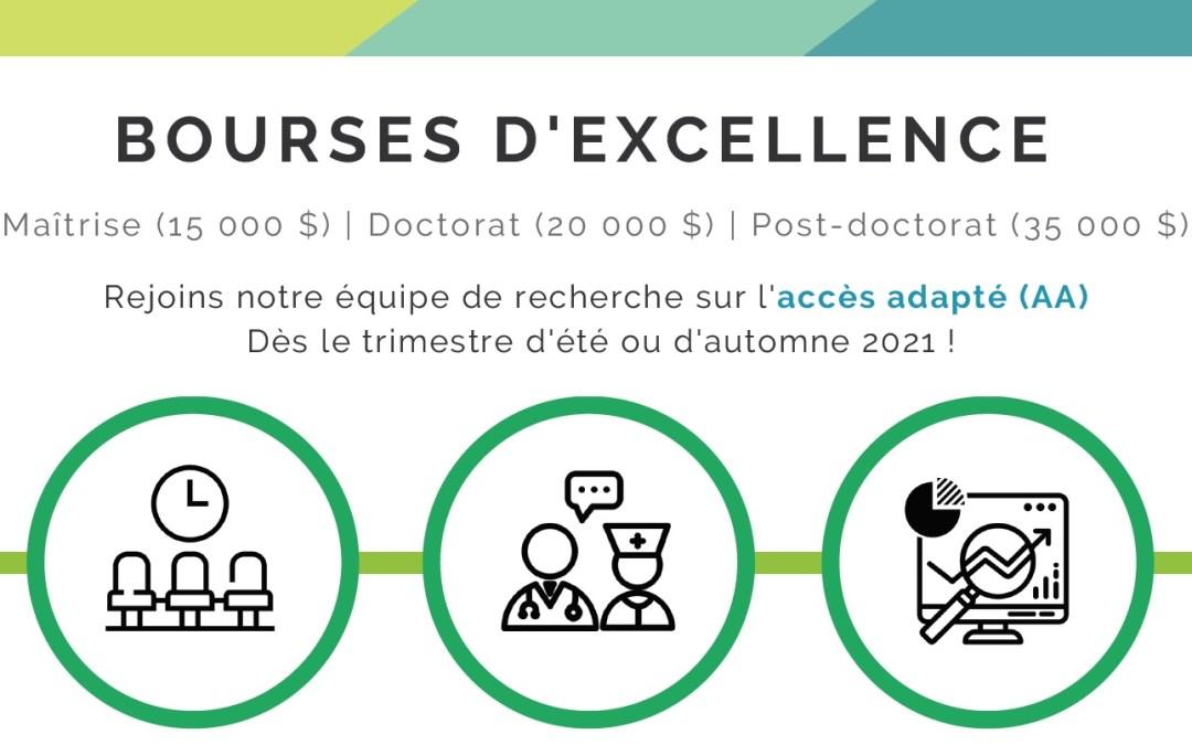 Adapted Access – Excellence Bursary