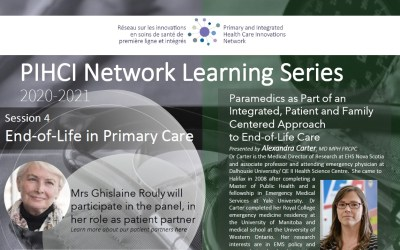 PIHCI Network Learning Series 4: End-of-Life in Primary Care