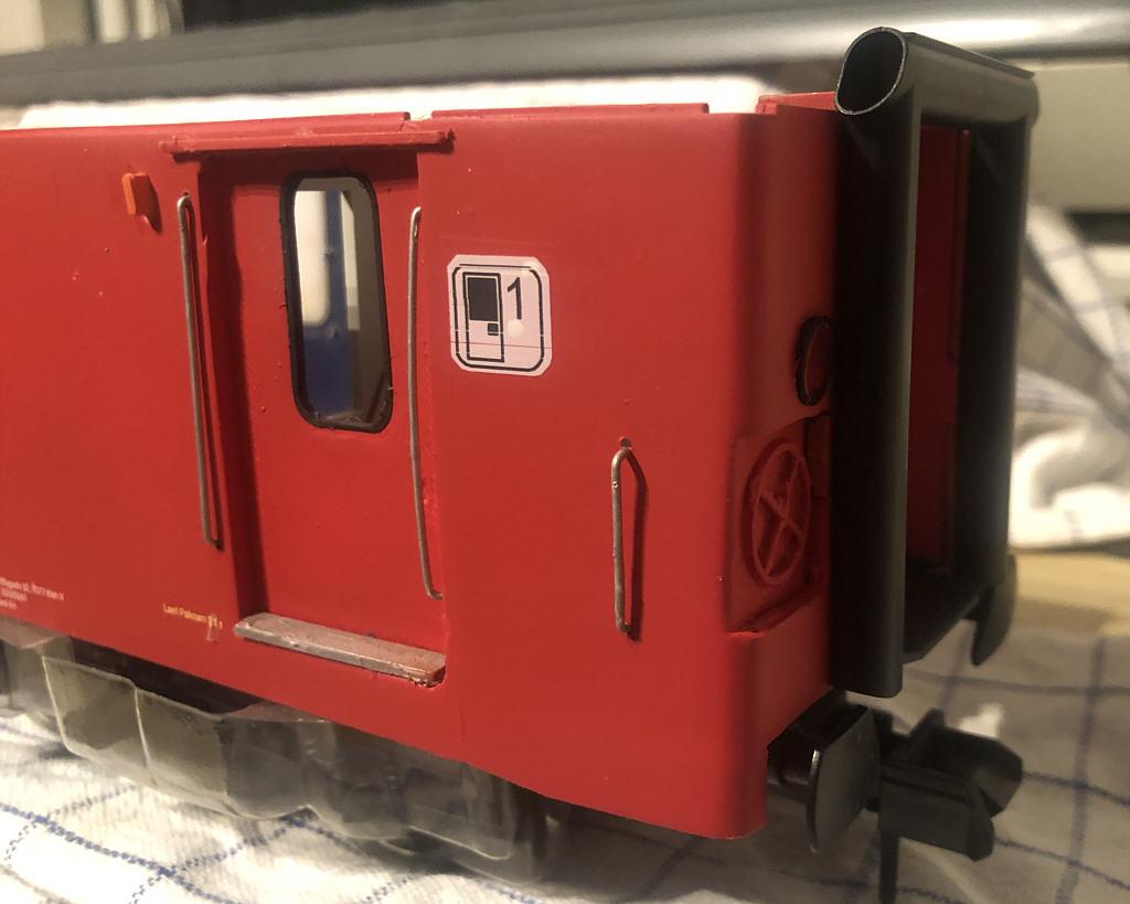 DSB Litra P postvogn