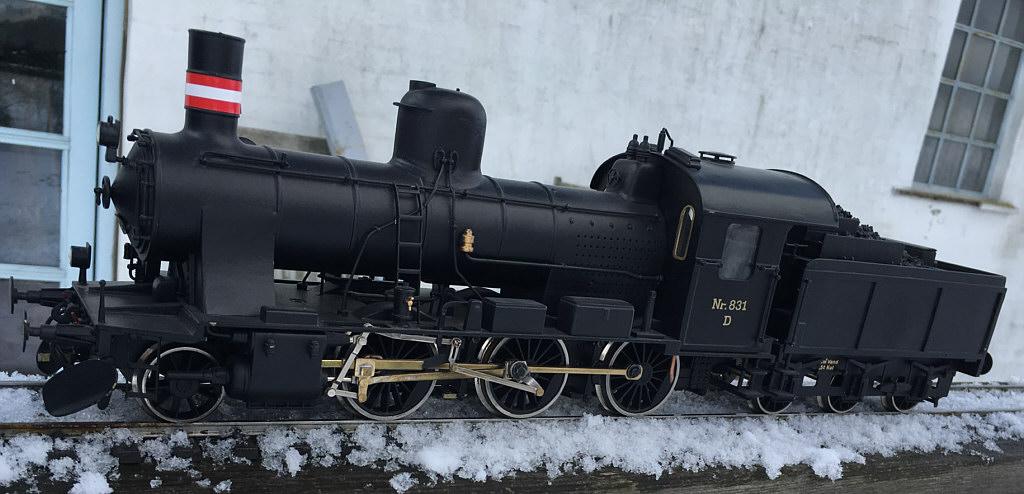 DSB damplokomotiv D IV - Verner Olsen
