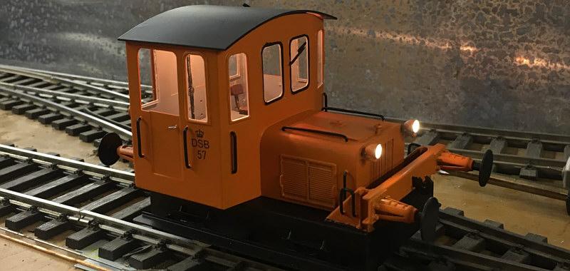 DSB Traktor 57 klar til levering