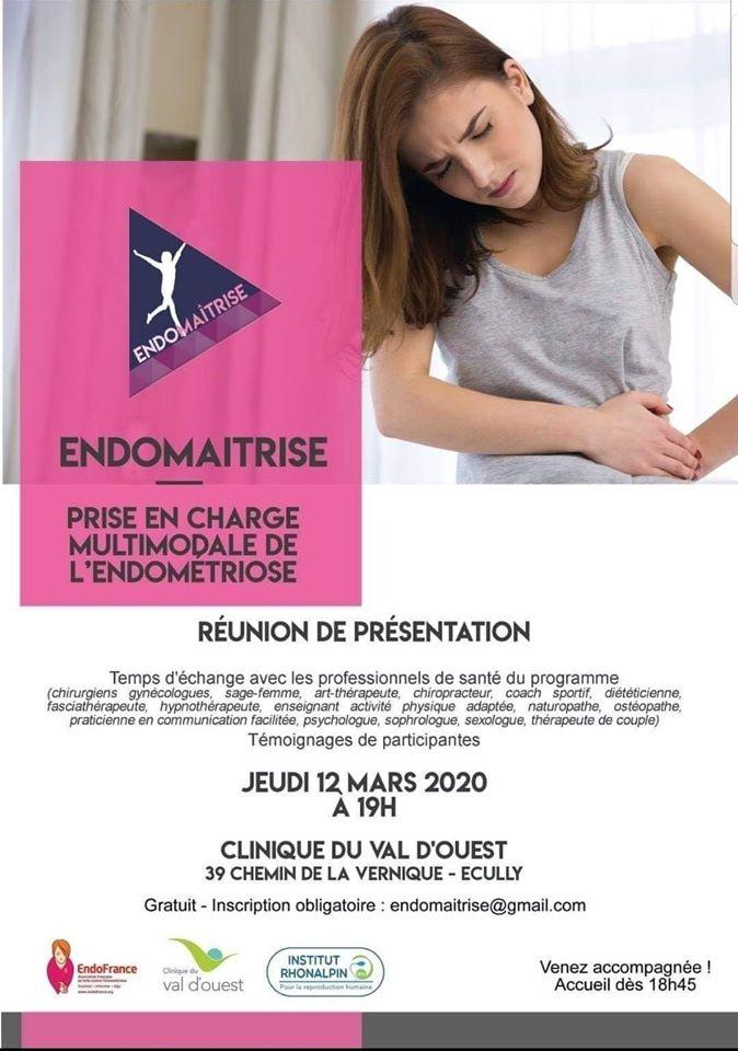 Endomaitrise - Réunion de présentation - Sporactio - activité physique adaptée