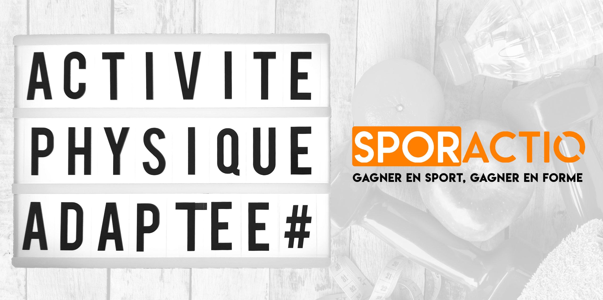 Logo SPORactio Sport Santé Lyon Rhône Activité Physique Adaptée