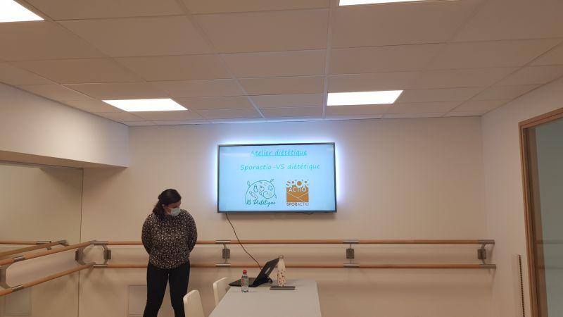 Les ateliers diététiques - Virginie SALOMON - SPORACTIO - Activité Physique Adaptée Lyon