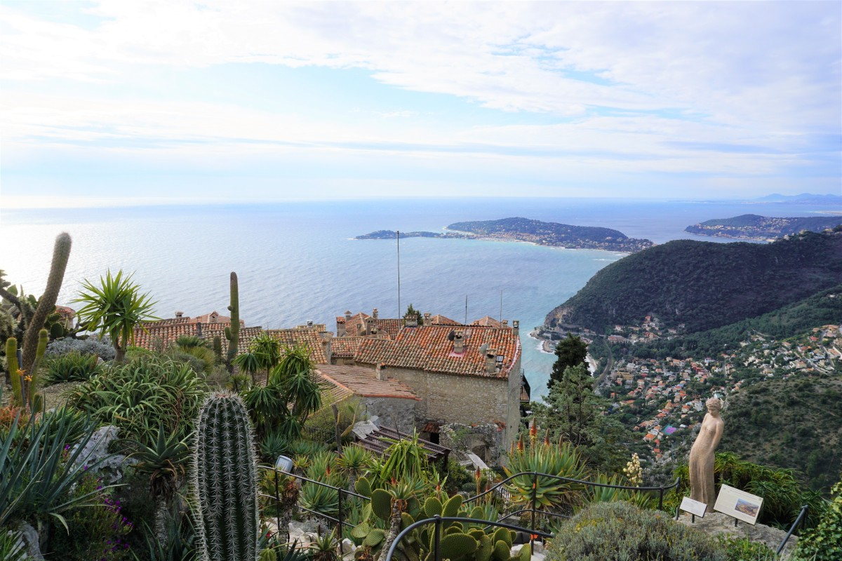 A few hours in Èze Village, France Review