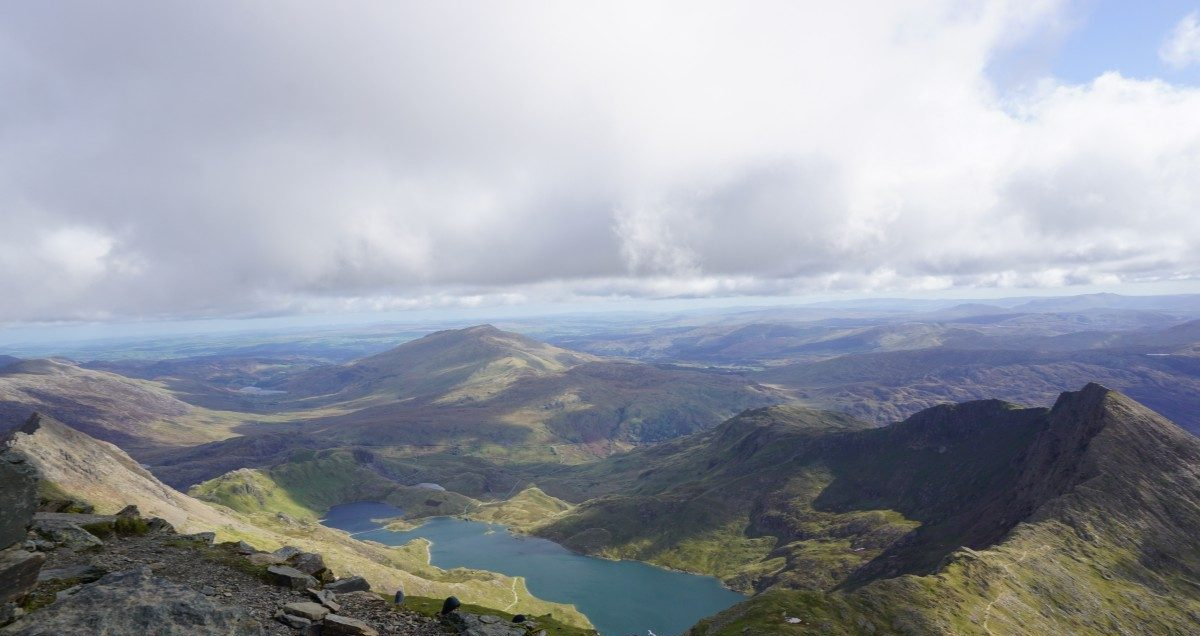 One day hiking up the Llanberis path to Mt Snowdon, Wales Review