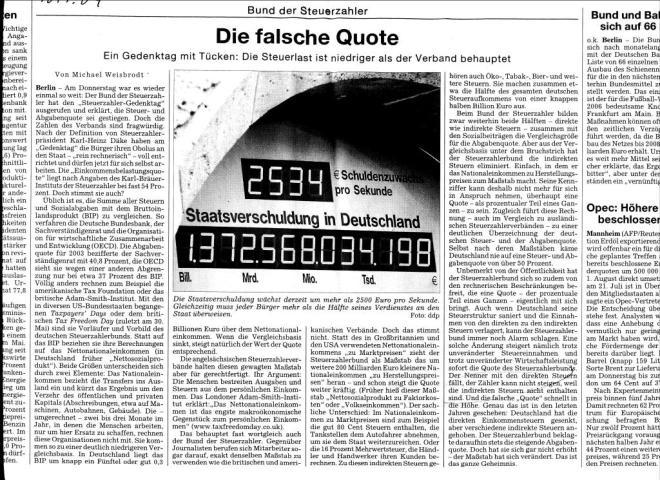 Artikel Süddeutsche 2004