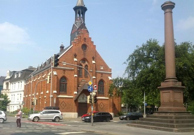 Friedensplatz und Friedenskirche, Oldenburg