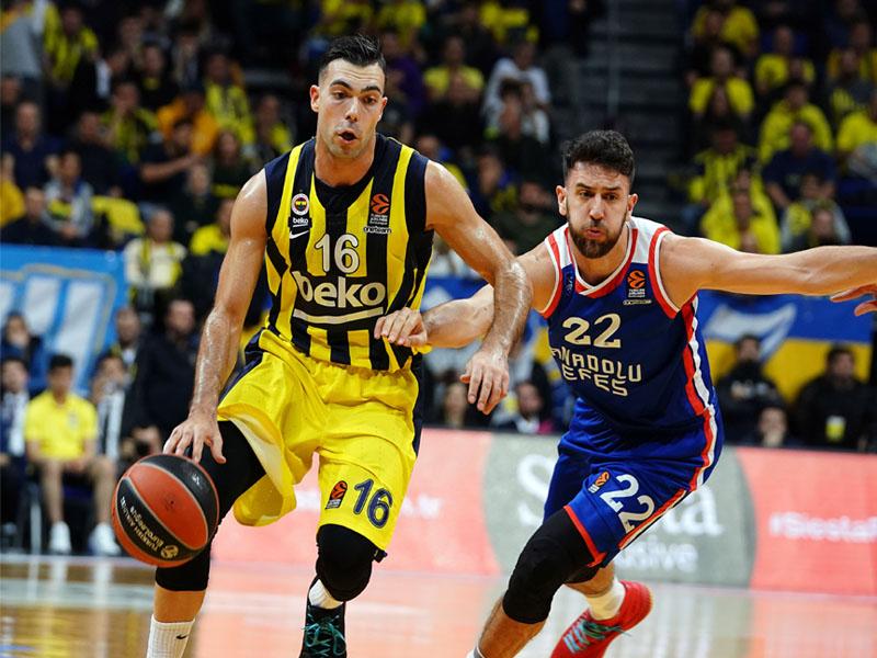 Anadolu Efes ve Fenerbahçe Beko, Sinan Erdem'de karşılaşacaklar. ING Basketbol Süper Ligi 12. Hafta maç programı ve bahis tahminleri