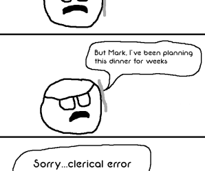 Mark Makes A Clerical Error – Spor Repor Comics