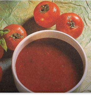 Recette cuisine fitness 2 idées de potage à base de tomates