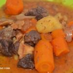 recette de cuisine collier de bourguignon en daube
