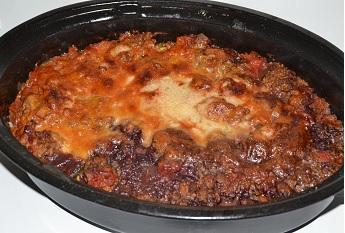 Gratin de bœuf aux légumes : une recette équilibrée.On peut se faire plaisir avec de bons plats sans grossir.Il suffit d'équilibrer.