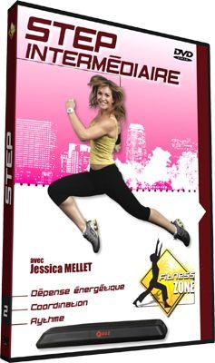 Chorégraphie Step débutant : une séquence pour perdre du poids. Des pas simples pour se faire plaisir