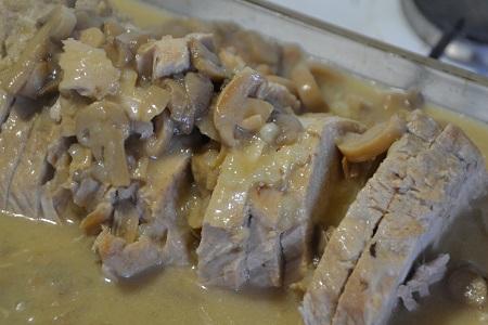 recette cookeo longe de porc à lamoutarde