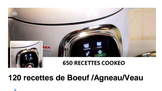 120 recettes cookeo boeuf