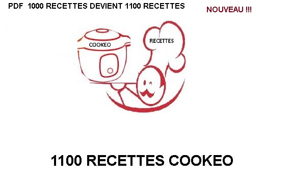 1000 Recettes cookeo