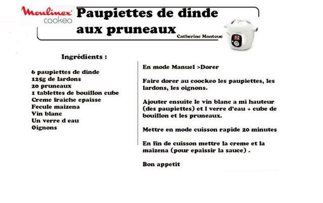 PAUPIETTES PRUNEAUX
