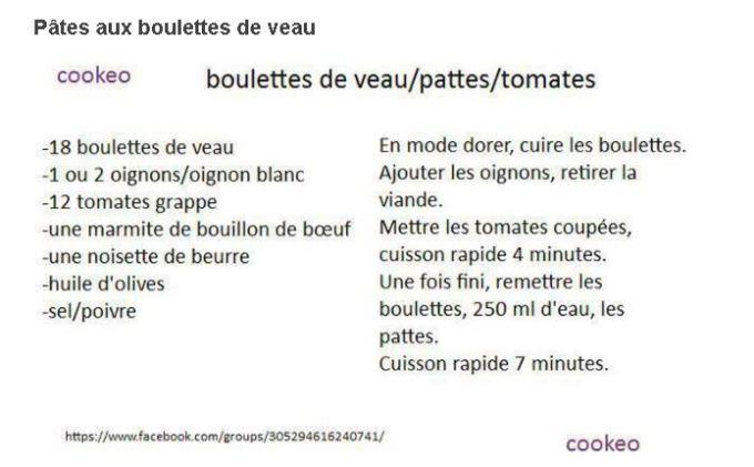 10 recettes cookeo pâtes et pennes vol 1