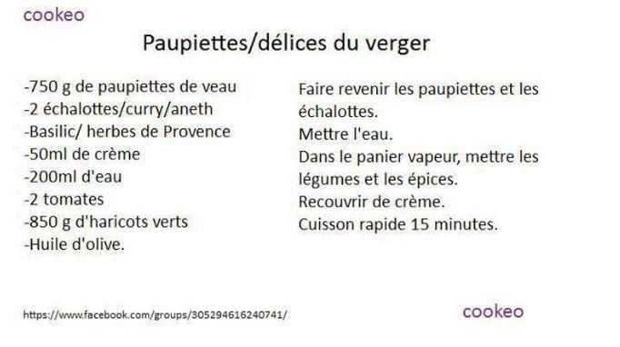 PAUPIETTES DELICES