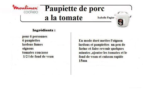 paupiettes tomates cookeo 10 recettes cookeo paupiettes vol2