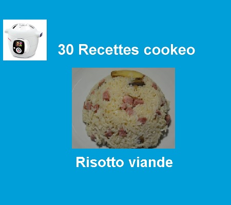 30 recettes cookeo risotto à la viande
