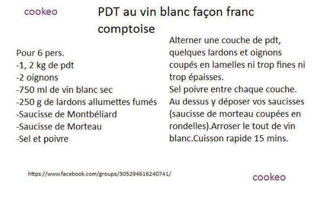 PDT FRANC COMPTOISE