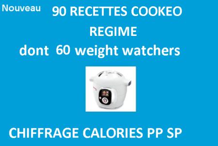 90 Recettes cookeo régime
