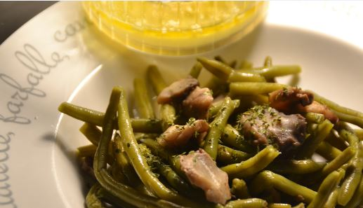 Salade haricots verts champignons cookeo