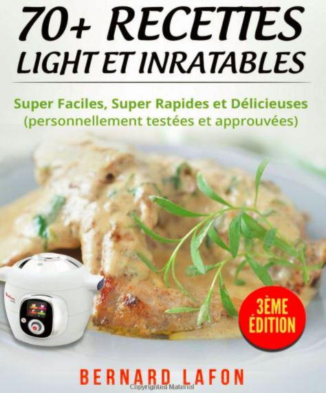 70 recettes cookeo light le livre