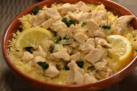 Taboulé poulet citron recette cookeo