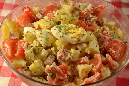 Salade piémontaise légère recette cookeo