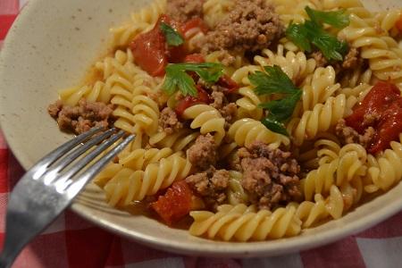 One pot pasta viande hachée recette cookeo