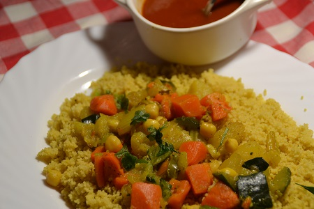 Couscous légumes weight watchers recette cookeo