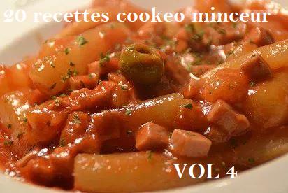 20 recettes cookeo minceur VOL 4