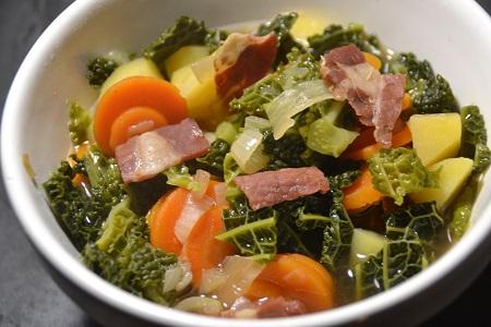 Soupe jambon cru recette cookeo