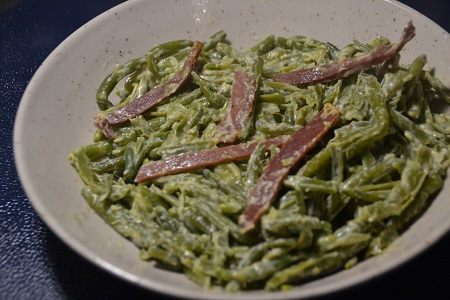 Haricots verts carbonara weight watchers cookeo
