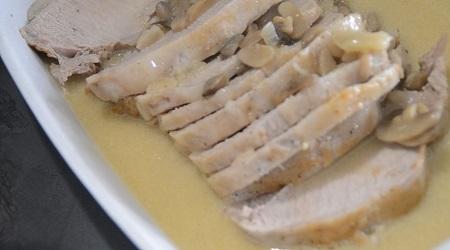 Rôti de porc moutarde recette cookeo