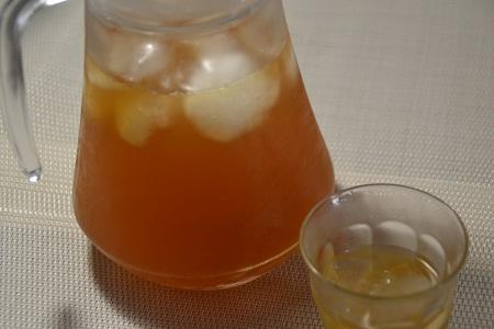 Thé glacé fruits rouges préparé au cookeo