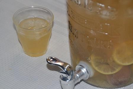 Thé glacé citron vert préparation cookeo