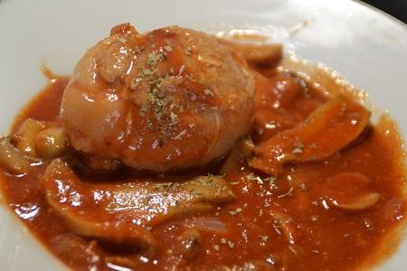 Paupiettes poulet tomates cookeo