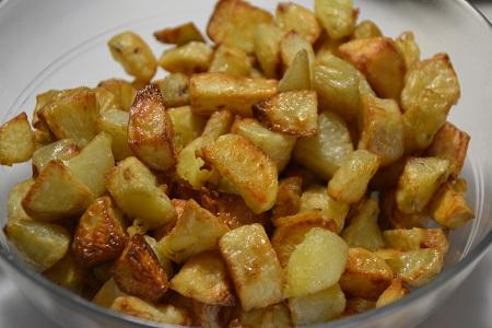 Pommes de terre frites fraîches extra crisp cookeo