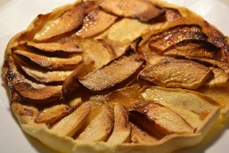 Tarte aux pommes extra crisp cookeo