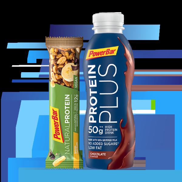 Barre protéine et boisson sport