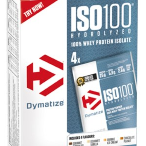 Poudre ISO100 Dymatize Multipack