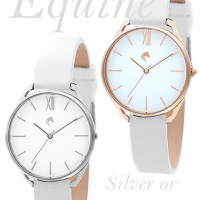 Equine Silver or Rose Gold - Ladies Watch - Ladies Day Collection Sport Of Kings